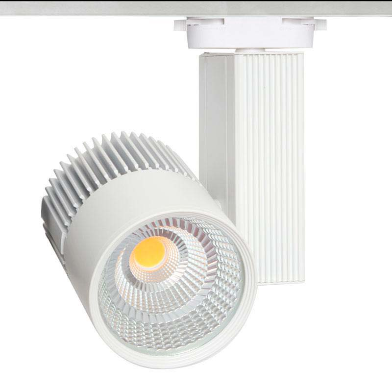 Foco carril CRONOLUX CREE led, 35W, Verduras, Blanco neutro